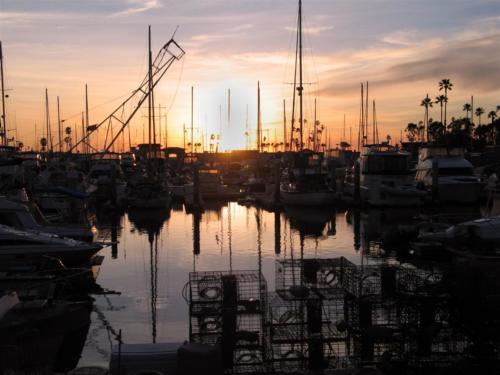 boats-sunset
