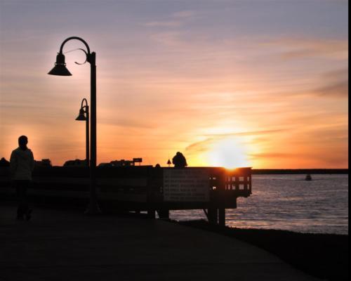 lamp-post-sunset